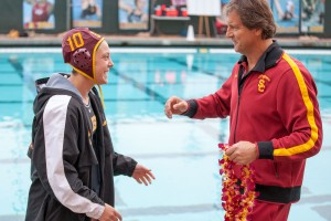 Resume builder · Dominique Sardo (above) and the women's water polo team are looking to boost their seeding in the NCAA tournament. - Ralf Cheung | Daily Trojan