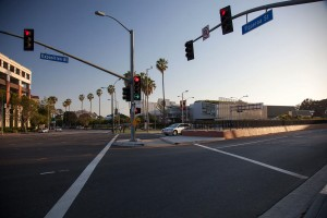 Alarmed · The Dept. of Public Security reacted Monday to a suspicious package near the intersection of Figueroa Street and Exposition Boulevard.  - Ralf Cheung | Daily Trojan