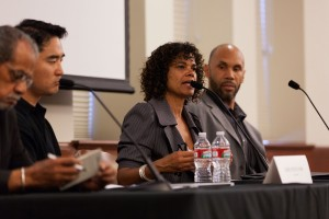 Speaking out · Journalist Erin Aubry Kaplan, who studied the 1992 Los Angeles riots, discusses the current state of race relations in L.A. - Ralf Cheung | Daily Trojan