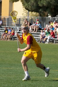 All-purpose · USC freshman attacker/midfielder Caroline Cordrey scored two goals and notched one assist in the team's win over Fresno St. - Ralf Cheung | Daily Trojan