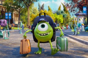 Freshman-ster · Monsters University follows a young Mike and Sully before they teamed up as the top scaring duo at Monsters, Inc. - Courtesy of Walt Disney Studios