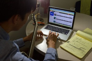 Old tunes · An archive of music infringement cases, which dates back to 1845, is now housed at the university in the Gould School of Law. - Alexander Horsono | Daily Trojan