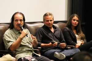 Sex star · Adult film actor Ron Jeremy discusses Porn Star: The Legend of Ron Jeremy to a full crowd Thursday in the Ray Stark Family Theatre. - Austin Vogel | Daily Trojan