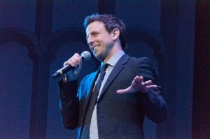 Live from Bovard· Saturday Night Live head writer and comedian Seth Meyers brings a weekday update to Bovard Auditorium on Tuesday. - Priyanka Patel | Daily Trojan
