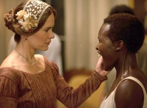 Fall preview · Lupita Young (right) stars as Patsey and Sarah Paulson (left) stars as Mistress Epps in Fox Searchlight Pictures' 12 Years a Slave. Film offerings will turn toward more intellectual fare this fall. - Courtesy of AceShowbiz.com