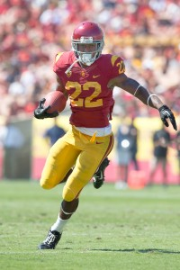 Rave reviews · Just three games into his career, freshman running back Justin Davis has impressed with 172 rushing yards and two touchdowns. - Ralf Cheung | Daily Trojan