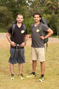 Race on · Leo Temory (left) and cousin Jamal Zadran (right) will both appear on the 23rd season of CBS' hit reality TV show The Amazing Race. Temory graduated from USC with a degree in business management in 2008. - Courtesy of CBS