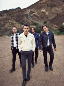 "No monkey business · English indie rock band Arctic Monkeys are in fine form on AM, with single ""R U Mine?"" peaking at No. 23 in the UK. - Courtesy of Domino Records"