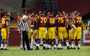 Big test · USC's offensive line will face its most daunting challenge of the season when it goes up against ASU and its All-American defensive tackle Will Sutton. USC rank No. 98 in the country in tackles for loss allowed. - Ralf Cheung | Daily Trojan