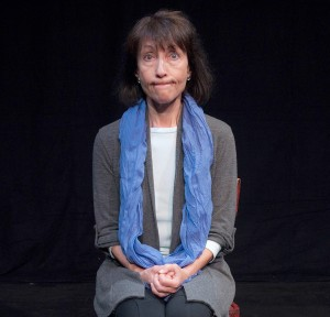 Solo show · Stephanie Satie wrote and stars in Silent Witnesses, a play that follows four survivors of the Holocaust who meet in group therapy. - Courtesy of Rick Friesen