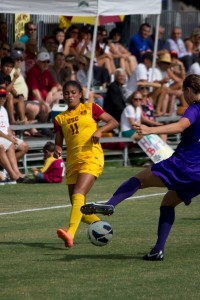 Crossed up · Senior midfielder Autumn Altamirano has two assists for the Women of Troy this season after starting all 18 games last year. - Joseph Chen   Daily Trojan