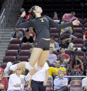 Serial killer · Sophomore outside hitter Samantha Bricio recorded 16 kills and four service aces in the Trojans' 3-0 win over Utah. The Women of Troy pushed the attack and overwhelmed the Utes in a 25-22, 25-21, 25-13 victory. - Nick Entin | Daily Trojan