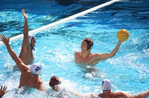 Uncontainable · USC senior driver Nikola Vavic scored 14 goals in the team's first tournament of the season. Vavic scored 83 goals last season, tying for the lead in the Mountain Pacific Sports Federation. - Daily Trojan file photo