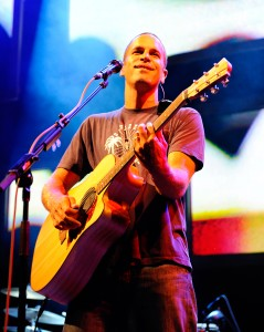 From here to us · Jack Johnson uses the sparse, minimalistic sounds of acoustic guitar in his newest release From Here to Now to You. - Courtesy of bostonherald.com