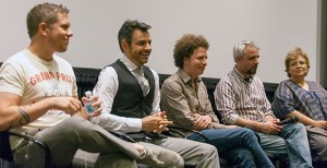 Opening eyes · Panelists discuss prominent Mexican films and their role in Mexican culture on Saturday at the Ray Stark Family Theatre in the George Lucas Building. - Ralf Cheung | Daily Trojan