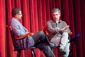 Thought-provoking · Author and scholar Reza Aslan explores Jesus as a politically conscious revolutionary at the Campus Center. - Nick Entin | Daily Trojan