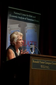 Danger zone · Former congresswoman and current president of the Woodrow Wilson International Center for Scholars Jane Harman has been recognized as a national expert in national security and public policy issues. - Joseph Chen | Daily Trojan