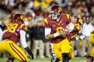 "Pocket presence · Redshirt sophomore quarterback Cody Kessler has averaged just under 300 yards in USC's past two games. ""I can see the guys starting to believe in him,"" interim head coach Ed Orgeron said. - Ralf Cheung 