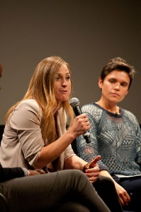 Speaking out · Olympic softball player Lauren Lappin explains her experiences as a lesbian and  former athlete on Thursday. - Joseph Chen | Daily Trojan