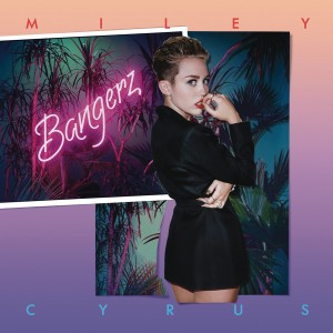 Twerkin' to the top · Miley Cyrus drew influences from hip hop and enlisted the help of producer Mike WiLL Made-It on Bangerz. - Courtesy of RCA Records