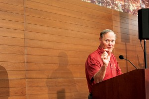 For the record · USC Athletic Director Pat Haden cleared up reports that individuals posing as a USC affiliate contacted Tony Dungey and the Denver Broncos about the school's vacant head coaching job. - Ralf Cheung | Daily Trojan