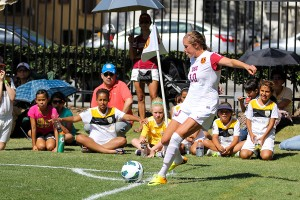 Indispensable · USC has outscored its opponents 11-2 in the three games that senior midfielder Jordan Marada has had a goal or assist. - Nick Entin | Daily Trojan