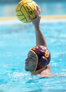 """Sparkplug · Redshirt sophomore two-meter Mac Carden has been described by his teammates as the """"glue guy"""" for the Trojans this year. - Chris Roman 