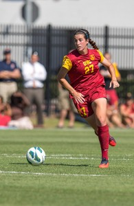 Out of nowhere · Junior midfielder Alex Quincey hadn't scored this season before netting two goals last weekend versus Stanford and Cal. - Ralf Cheung   Daily Trojan