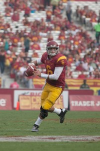 Hot hand · In his last three games, Redshirt sophomore quarterback Cody Kessler has completed 74.7 percent of his passes with four touchdowns. - Ralf Cheung | Daily Trojan