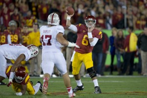 Breakout · Redshirt sophomore quarterback Cody Kessler had arguably the best game of his young career against Stanford last week, throwing for 288 yards and a touchdown against one of the nation's toughest defenses. - Ralf Cheung | Daily Trojan