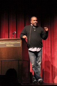 Oscar buzz · Famed director Lee Daniels discussed his most recent film Lee Daniels' The Butler at the Ronald Tutor Campus Center on Wednesday. - Uracha Chaiyapinunt | Daily Trojan
