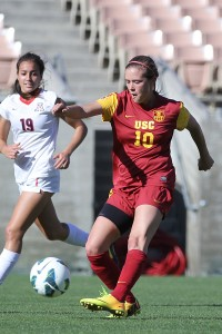 Looking to the past · Senior midfielder Jordan Marada has two goals and four assists this season after leading USC last year with five goals and five assists, which included a game-winner against UCLA in the season finale. - Nick Entin | Daily Trojan