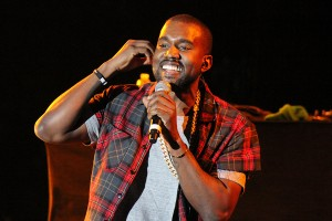 """Odd feature · Controversial rapper Kanye West made a surprise appearance at Camp Flog Gnaw. West performed some of his lesser known songs including """"Late,"""" a bonus track off of 2005's Late Registration. - Photo courtesy of Katrina Nattress, LA Weekly"""