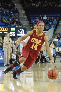 Sparkplug · Junior guard Ariya Crook earned Pac-12 All Honorable Mention last season after emerging as USC's second leading scorer with 13.4 points per game. Crook was also was second in assists (2.9 apg) and steals (1.2 spg). - Ralf Cheung | Daily Trojan