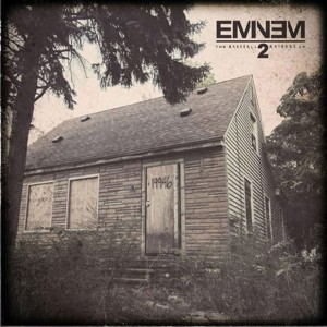 "Enlisting a ""Monster"" · Eminem's hotly anticipated The Marshall Mathers LP 2 features a verse from Compton rapper Kendrick Lamar. - Courtesy of Interscope Records"
