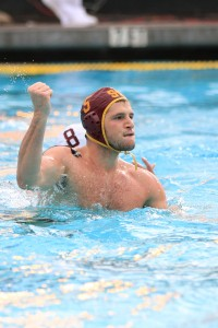 Back on top · Junior driver Kostas Genidounias scored one goal in USC's 10-8 win in the Mountain Pacific Sports Federation Championships. - Corey Marquetti | Daily Trojan