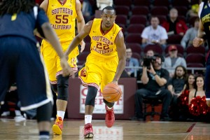 Drive · Junior guard Byron Wesley leads the Trojans wth 17.5 points per game, well above his 10.2 average from last year. Wesley will need to shoot well in order to defeat the dangerous 12-4 Utes. Ralf Cheung | Daily Trojan