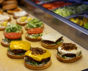 """Ring"" in the New Year · USC Hospitality has introduced a handful of new on-campus dining options. The Habit Burger Grill replaced Carl's Jr. in the Ronald Tutor Campus Center food court earlier this semester. - Photo courtesy of Erika Chesley"