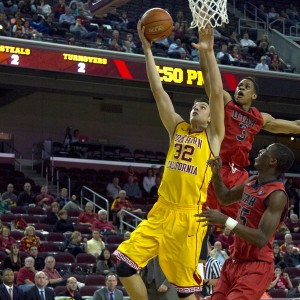 Serbian sensation · Freshman forward Nikola Jovanovic has been a steady contributor for USC this season, averaging 20.7 minutes of playing time per game. He is one of four Trojans to have played in every game this year. - Tucker McWhirter | Daily Trojan
