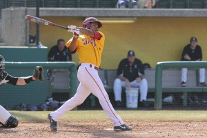 Hot hitter · USC junior infielder Dante Flores has gotten off to a torrid start in 2014, collecting 6 hits and 2 RBIs over the season's first four games. Flores hit at a .256 clip with four doubles in 24 starts last season. - Nick Entin | Daily Trojan