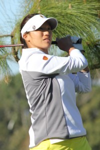 Setting the pace · Sophomore Annie Park claimed her fifth career title at the Northrop Grumman Invitational with a combined score of 1-under. - Courtesy of USC Sports Information
