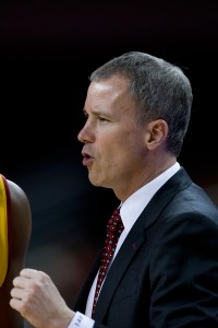 Running point · USC head coach Andy Enfield's presence has already been felt on the recruiting trail, even as the Trojans struggle on the court. - Ralf Cheung | Daily Trojan