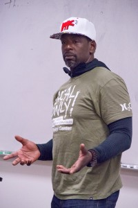 Food talks · Ron Finley is a founder of  L.A. Green Grounds, which aims to advance urban gardening in South Central Los Angeles. - Austin Vogel | Daily Trojan