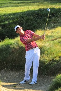 Fresh face · Freshman Rico Hoey returned to form in the first round of the Amer Ari Invitational, leading USC with a score of 7-under 65. - Courtesy of USC Sports Information