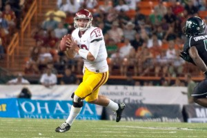 Turning the page · Max Wittek started twice at the end of the 2012 season in place of an injured Matt Barkley. Wittek lost the starting job early this season to fellow redshirt sophomore Cody Kessler. - Joseph Chen | Daily Trojan