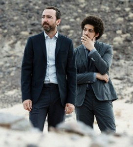 I can hear the bells · Brian Burton, better known as Danger Mouse, and James Mercer, lead singer of The Shins make up Broken Bells. This indie group released their sophomore album After the Disco Tuesday. - Photo courtesy of Broken Bells