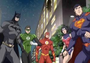 A League of Their Own · Batman, voiced by Jason O'Mara, and his fellow superheroes must unite against interdimensional tyrant Darkseid, voiced by Steve Blum in Justice League: War. - Photo courtesy of Warner Bros.