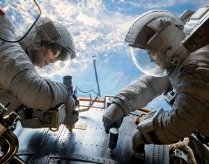 Gravity of the situation · Alfonso Cuarón's Gravity, starring Academy Award winners Sandra Bullock and George Clooney as a pair of astronauts stranded in space, has been nominated for a total of 10 Oscars, including Best Visual Effects, Best Actress and Best Picture. - Photo courtesy of Warner Bros. Pictures