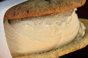 Sea salt caramel ice cream sandwich from Coolhaus. – Photo courtesy of Flickr