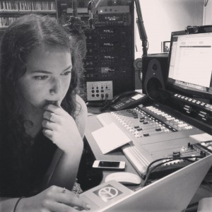 KXSC radio DJ Isabel Khalili-Lazarjani (pictured) claims radio substitutes such as Spotify and Pandora will never take the place of live, curated radio shows. / Photo courtesy of C. Molly Smith